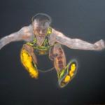 atlet, 110x150cm