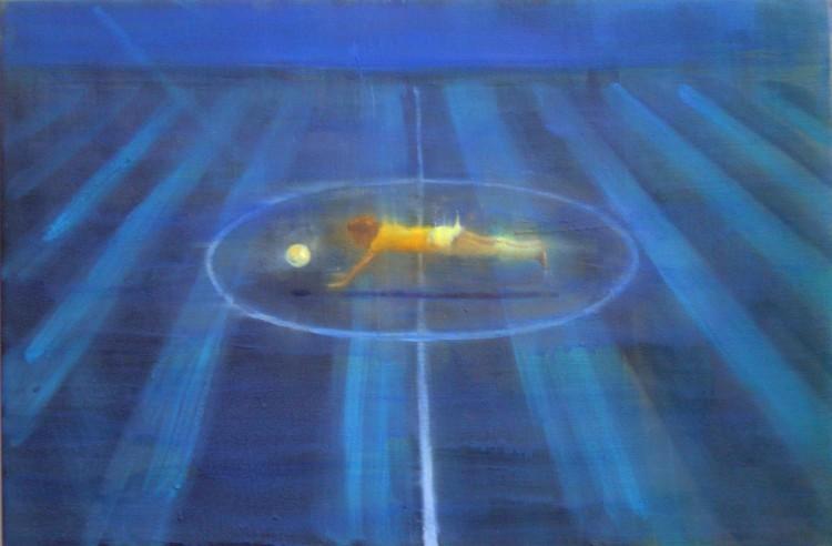 diver, 50x75cm