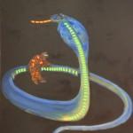 Kobra, 120x150 cm