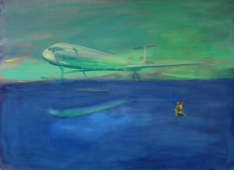 Letiště, 80x110cm