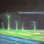 větrníky2, 100x120cm