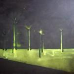 větrníky, 130x160cm