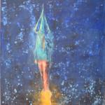 Raketa, 70x80cm
