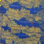 Modří jezdci, 100x120cm