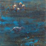 Psí život/ dogs life, 60x80cm
