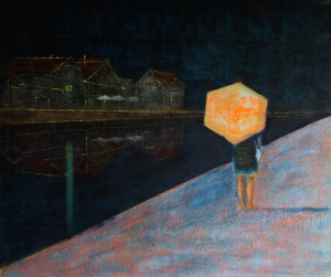 deštník, 120x140cm
