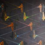 paralerní světy,130x160cm