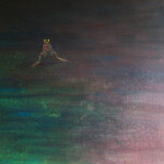 žába, 100x120cm